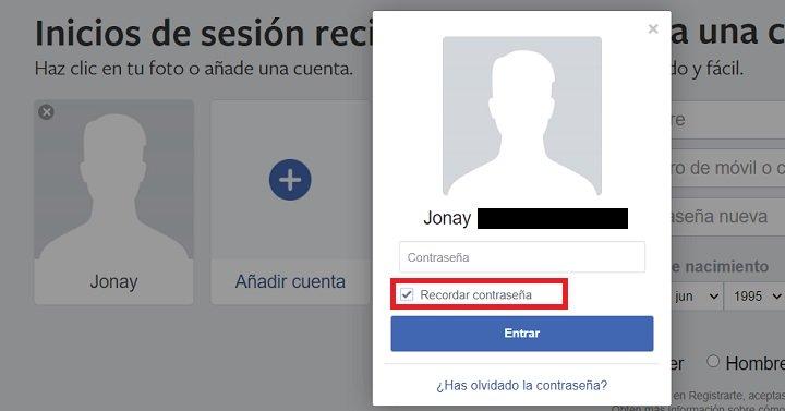 Imagen - Cómo entrar directo en Facebook automáticamente