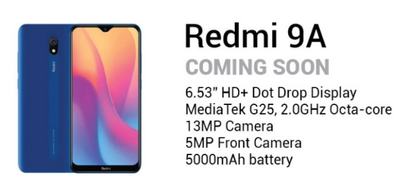 Imagen - Xiaomi Redmi 9A: especificaciones oficiales