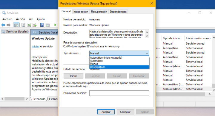 Imagen - Cómo evitar las actualizaciones de Windows