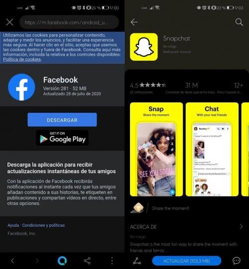 Imagen - Instalar apps con Petal Search de Huawei