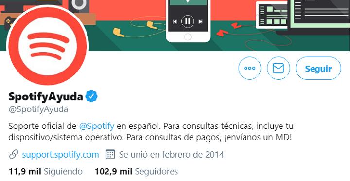 Imagen - Cómo contactar con Spotify