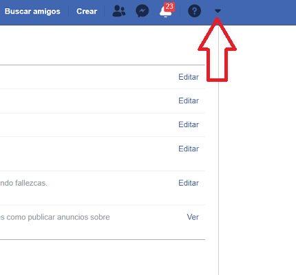 Imagen - Cómo descargar toda la información de Facebook