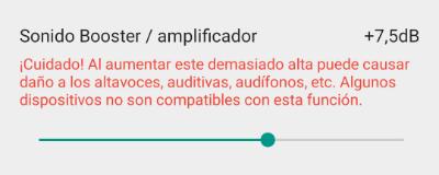 Imagen - Cómo subir el volumen en Android más de lo normal