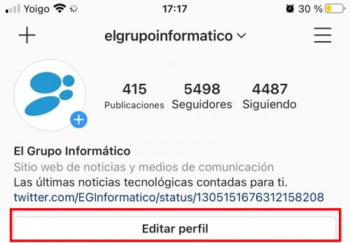 Imagen - Cómo cambiar tu nombre de usuario en Instagram