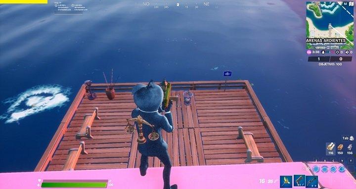 Imagen - Cómo atrapar un pez Midas en Fortnite