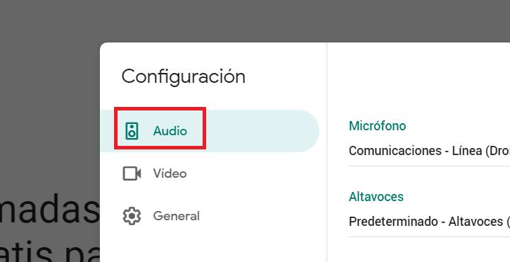 Imagen - Cómo activar la cancelación de ruido en Google Meet
