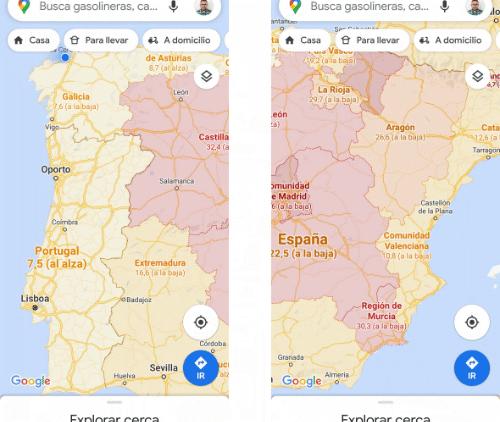 Imagen - Cómo ver la incidencia del COVID-19 en Google Maps