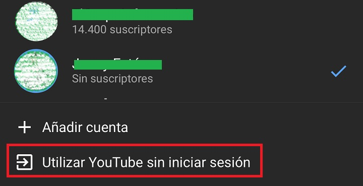 Imagen - Cómo cerrar sesión en YouTube