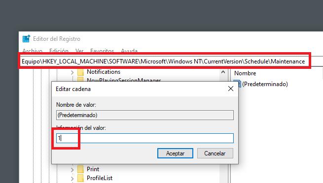 Imagen - Cómo desactivar mantenimiento automático en Windows 10