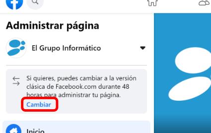 Imagen - Cómo volver al antiguo diseño de Facebook
