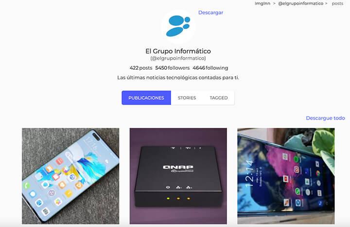 Imagen - SaveIG: cómo descargar Stories, fotos y más de Instagram