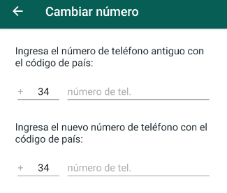 Imagen - Cómo avisar a tus contactos de WhatsApp si cambias de número
