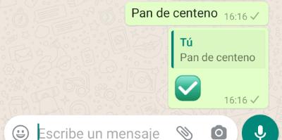 Imagen - Cómo usar WhatsApp para escribir la lista de la compra