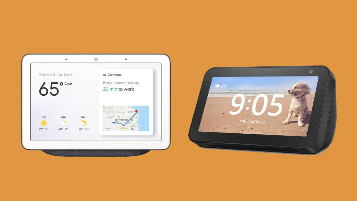 Amazon Echo vs Google Home, ¿cuál elegir?