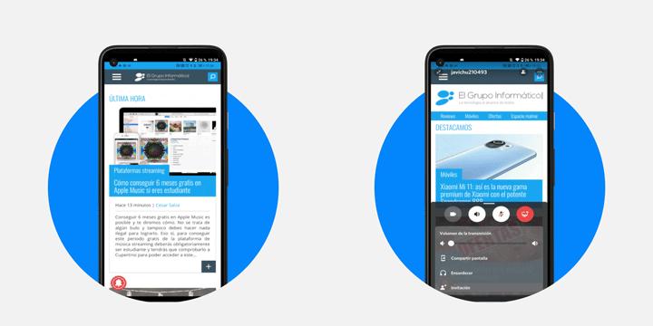 Imagen - Cómo compartir tu pantalla de Android en Discord en directo
