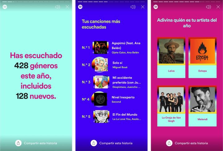 Imagen - Cómo compartir el resumen de Spotify 2020 en Instagram