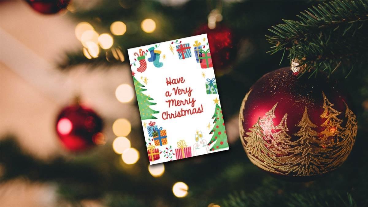 Cómo crear tarjetas de Navidad online y gratis