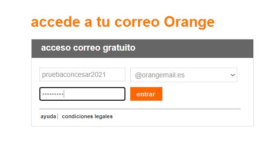Imagen - Cómo crear una cuenta de correo Orange