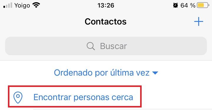 Imagen - Cómo chatear con personas cerca de ti en Telegram