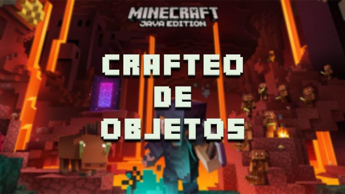 Minecraft: guía completa de crafteos