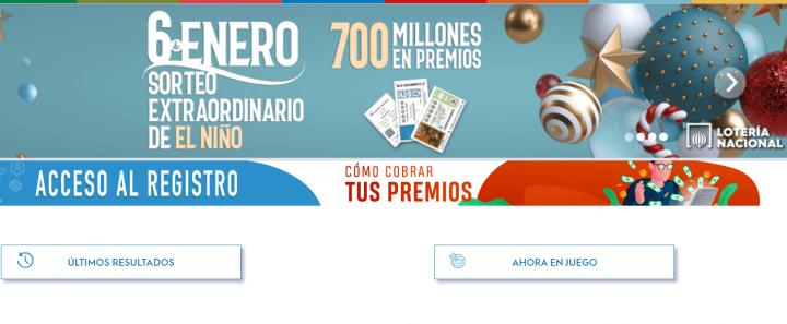 Imagen - Cómo comprobar la lotería del Niño por Internet