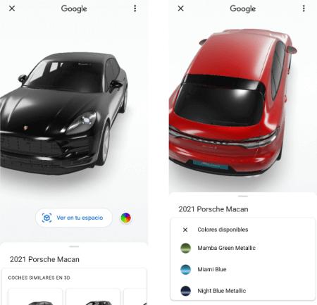 Imagen - Cómo ver un Porsche 3D con la realidad aumentada de Google