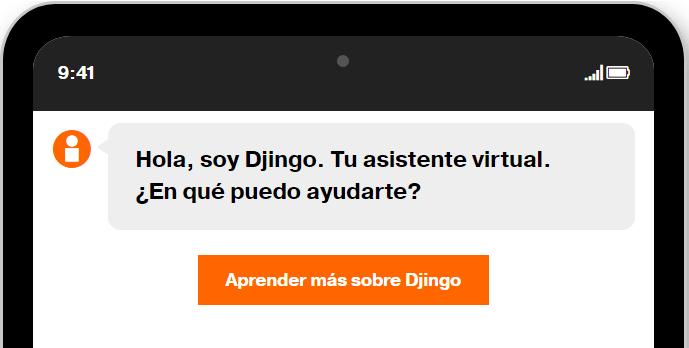 Imagen - Cómo contactar con atención al cliente de Orange