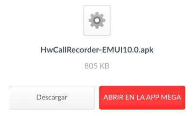 Imagen - Cómo grabar llamadas en un móvil Huawei