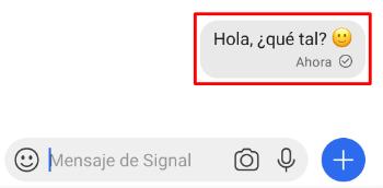 Imagen - Cómo eliminar mensajes enviados en Signal