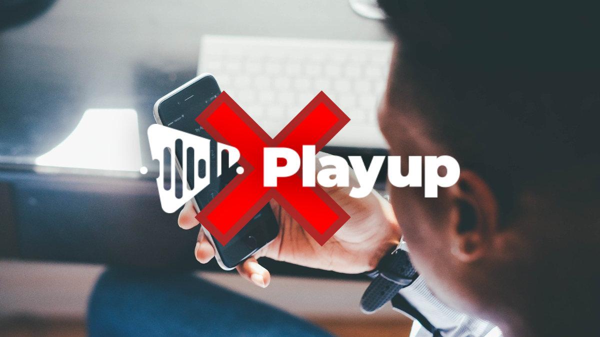 Cómo dar de baja PlayUp