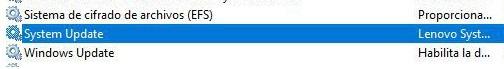 Imagen - Lenovo System Update consume mucha CPU: cómo arreglarlo