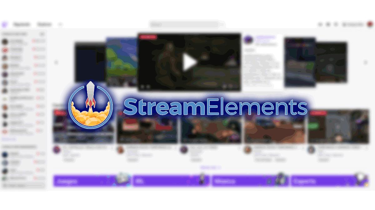 StreamElements, qué es y cómo usarlo