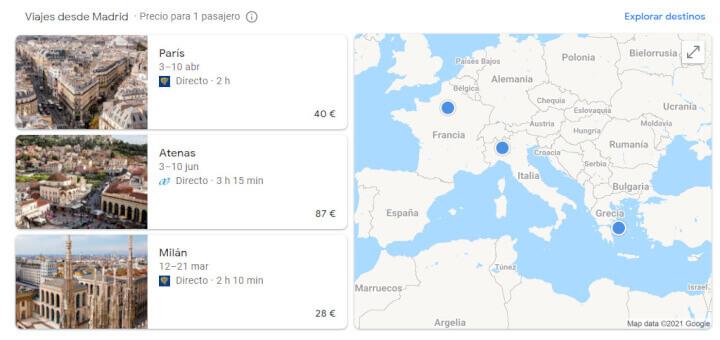 Imagen - Cómo encontrar vuelos baratos con Google Flights en 2021