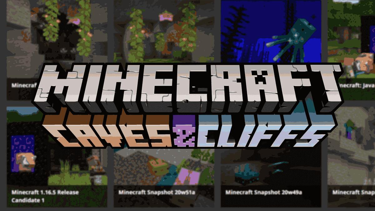 """Así puedes probar todas las novedades de Minecraft 1.17 gracias a las """"snapshots"""""""