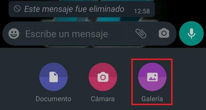 Imagen - Cómo enviar vídeos quitándoles el sonido en WhatsApp