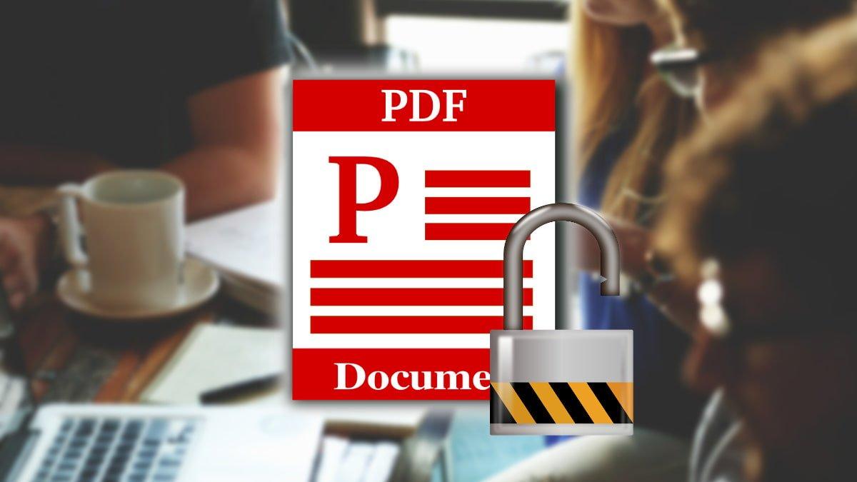 Desproteger archivos PDF de forma online y gratis