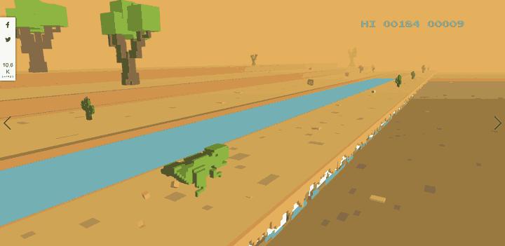 Imagen - Cómo jugar al juego del dinosaurio en Chrome