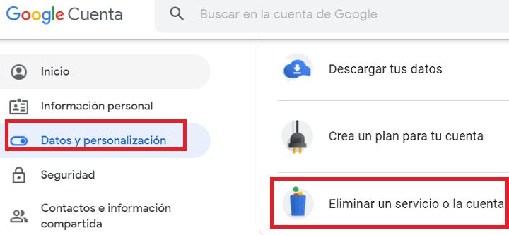 Imagen - Cómo eliminar una cuenta de Gmail