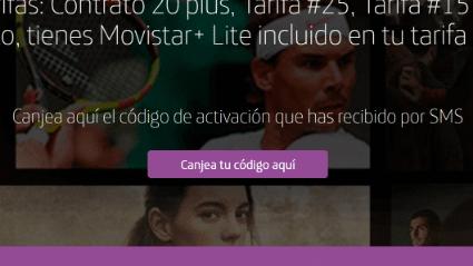 Imagen - Cómo activar Movistar+ Lite gratis con una tarifa ilimitada