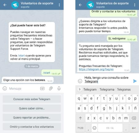Imagen - Cómo contactar con Telegram