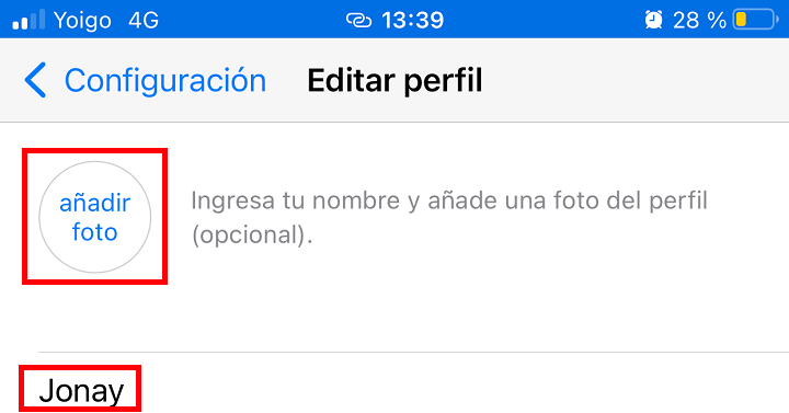 Imagen - Cómo cambiar la foto de perfil, nombre y estado en WhatsApp