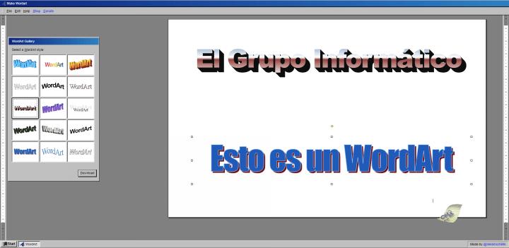 Imagen - Crea WordArt online