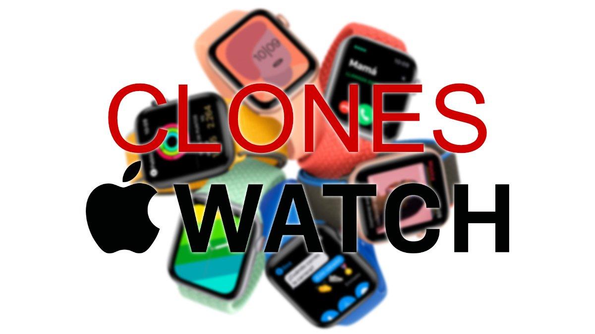 7 mejores clones del Apple Watch