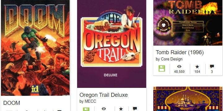 Imagen - Juegos clásicos en el navegador: miles gratis