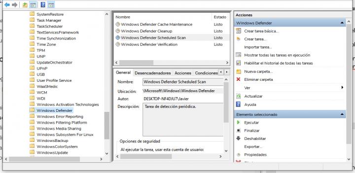 Imagen - Antimalware Service Executable usa 100% de CPU: solución