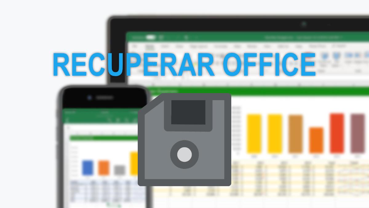 Recuperar documentos de Office sin guardar