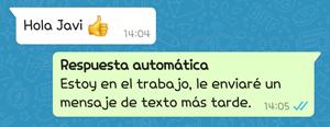 Imagen - Cómo programar respuestas automáticas en WhatsApp