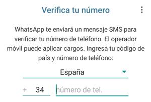 Imagen - Cómo tener WhatsApp con un número de teléfono fijo