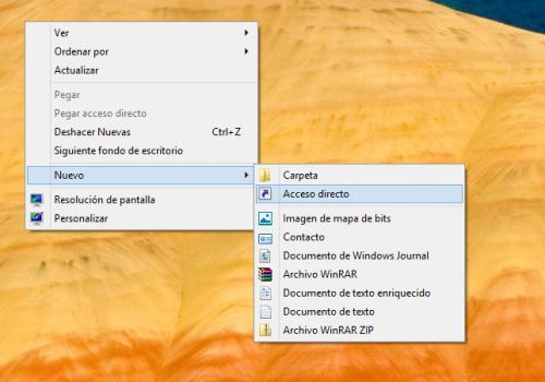 Imagen - Crear un acceso directo para apagar Windows