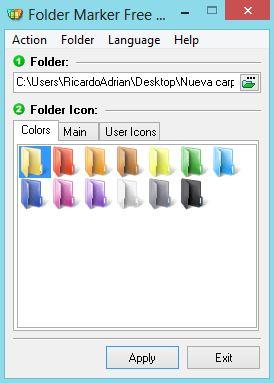 Imagen - Cambiar el color de las carpetas de Windows con Folder Maker